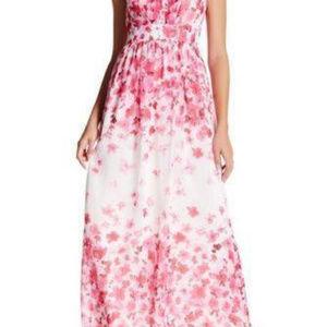 Eliza J Printed Maxi Dress S.8P